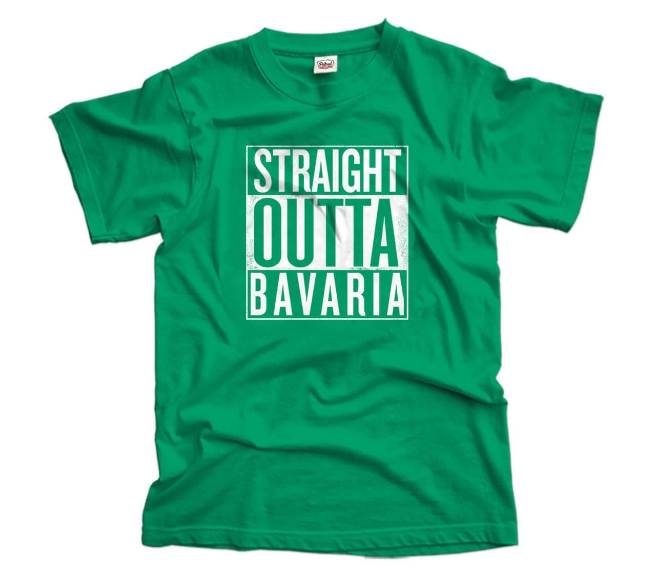 Straight Outta Bavaria T-Shirt