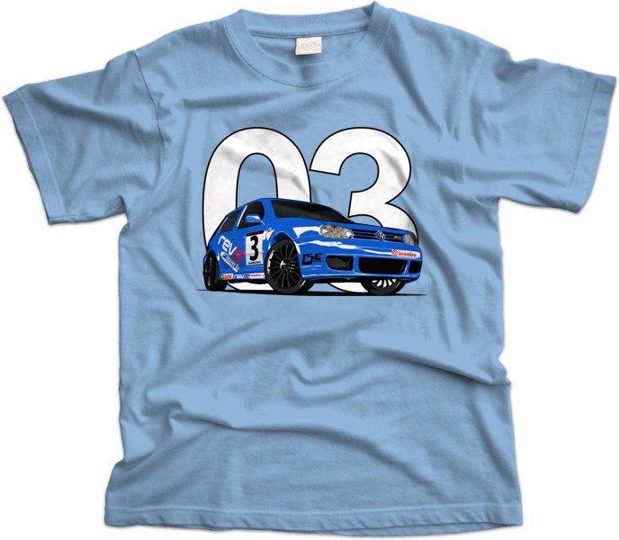 VW Golf R32 Mk4 Car T-Shirt
