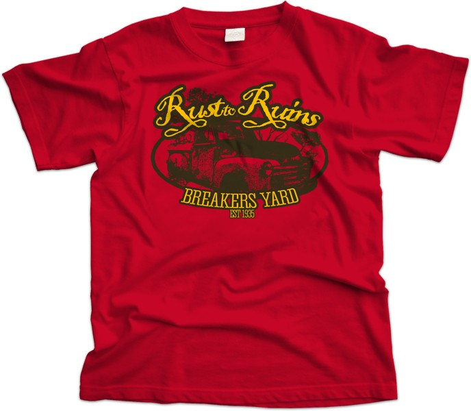 Rust to Ruins T Shirt