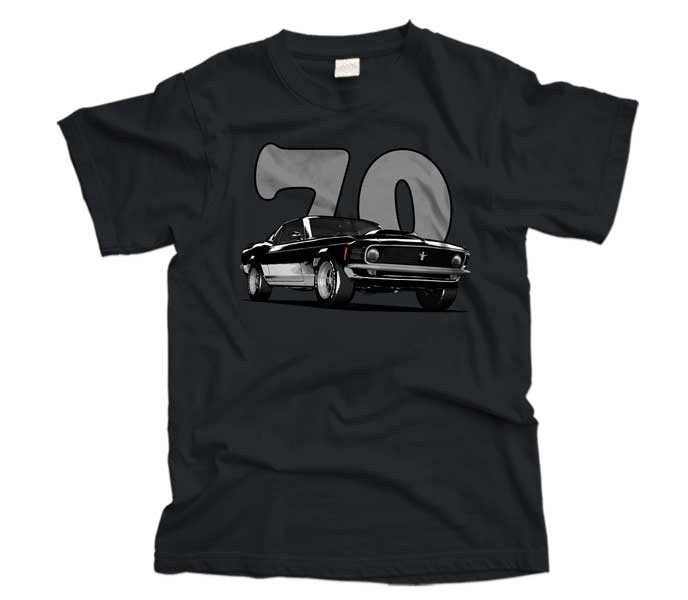 1970 Ford Mustang T-shirt