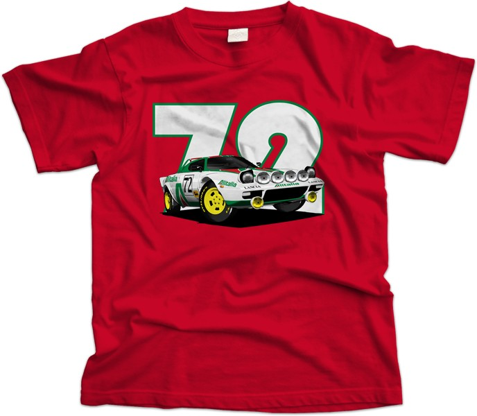 Lancia Stratos Car T-Shirt