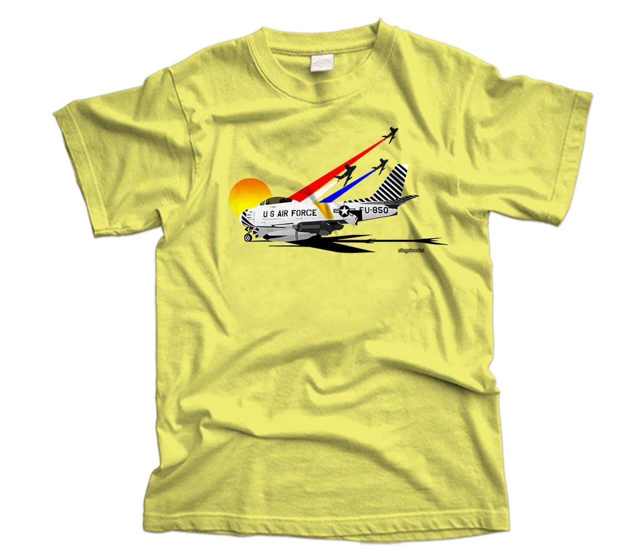 North American F-86 Sabre Aircraft T-Shirt