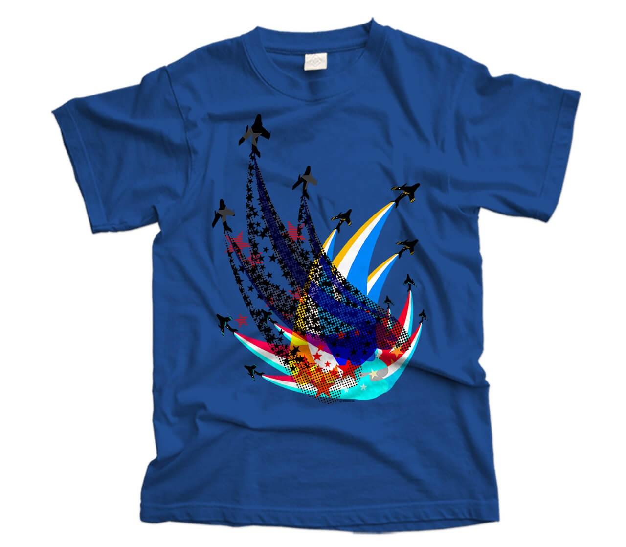 Sabre Flight Aircraft T-Shirt