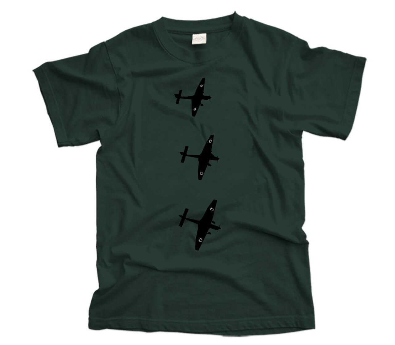Stuka Dive Bombers Aircraft T-Shirt