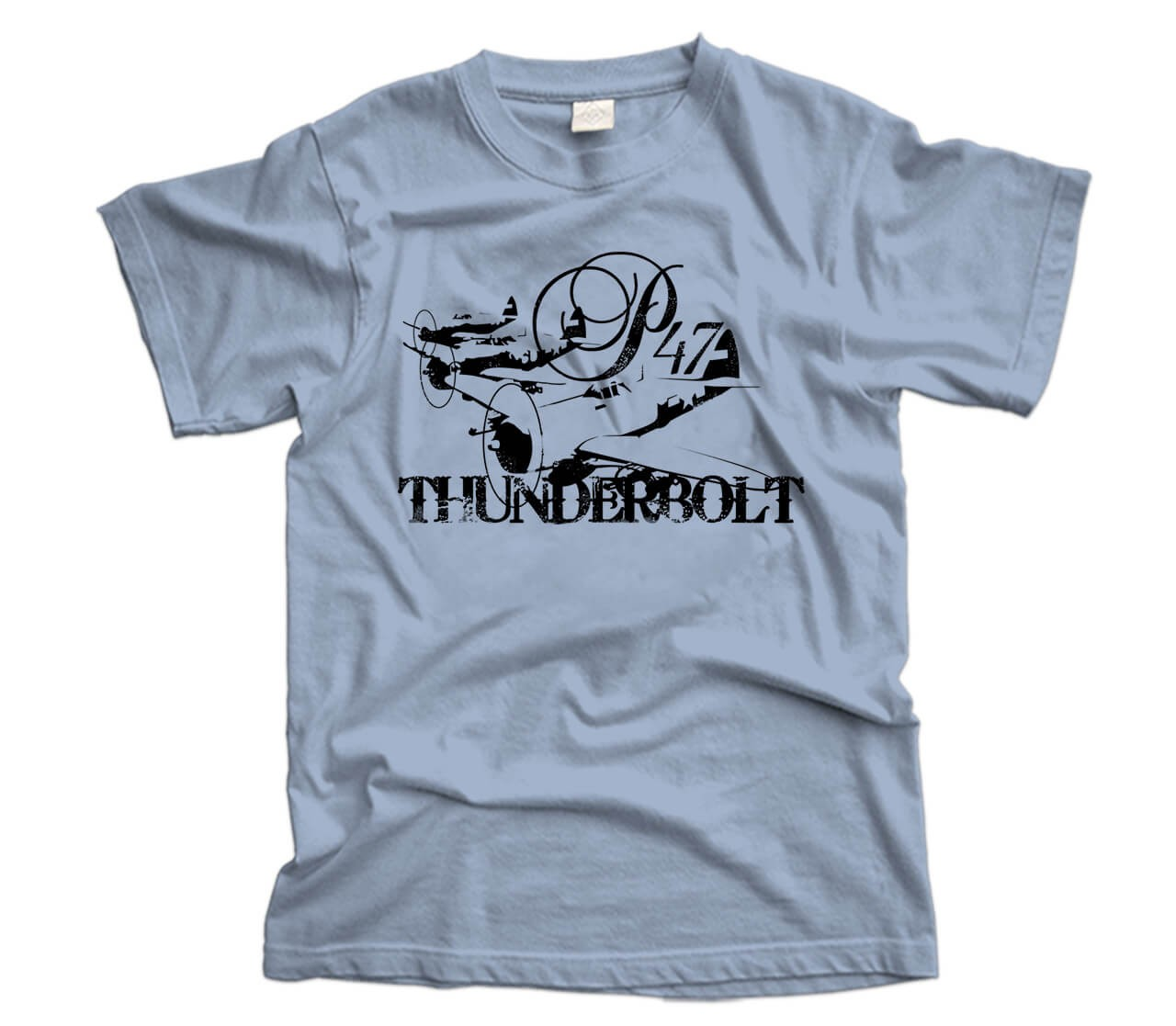 Thunderbolts In Flight Aircraft T-Shirt