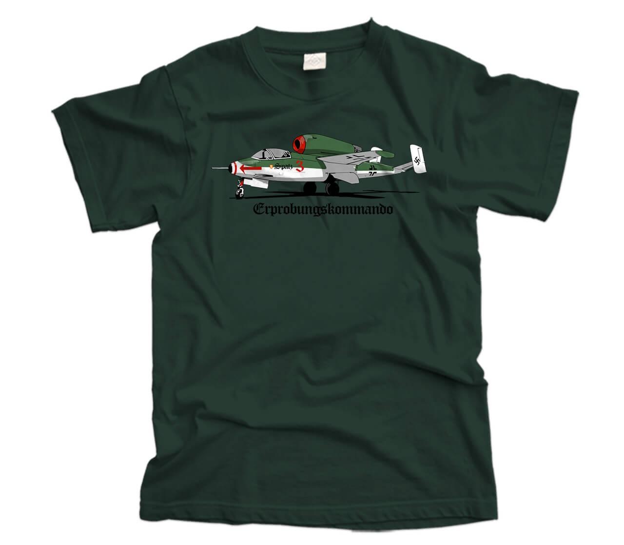 Heinkel HE 162 Volksjager Aircraft T-Shirt
