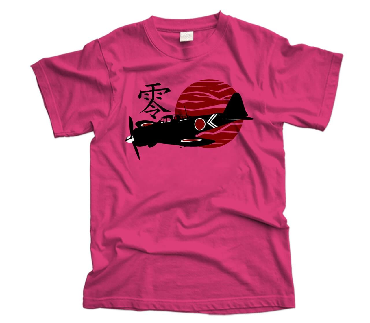 Mitsubishi AM6 Zero Aircraft T-Shirt