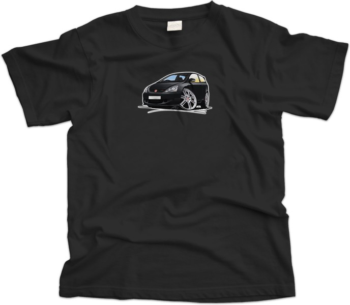 Honda Civic Type R Car T-Shirt