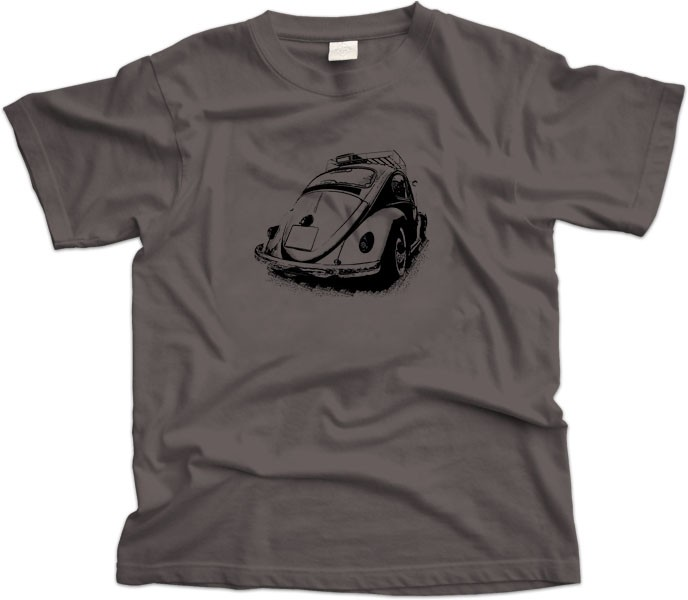 Volkswagen Beetle Rear View T-Shirt