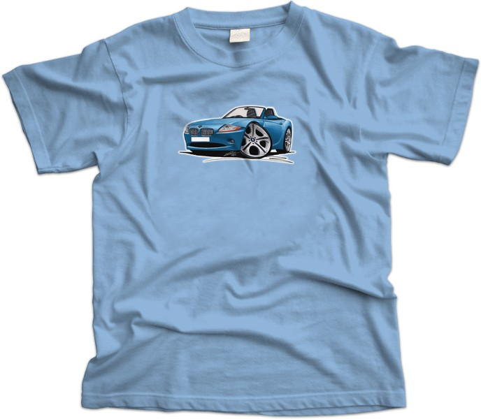BMW Z4 Car T-Shirt