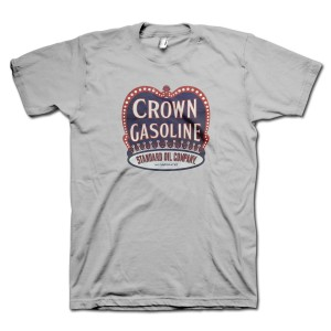 Crown Gasoline Retro T-Shirt