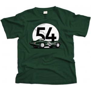 Jaguar D-Type car T-Shirt