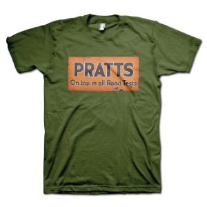 Pratts Petroleum Spirits Retro T-Shirt