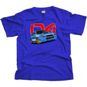 Subaru Impreza Wrx Sti car T-shirt