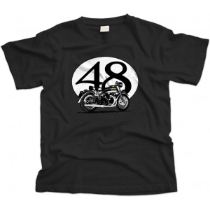 Vincent Black Shadow bike T-Shirt