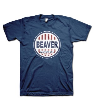 Beaver Motor Oil Retro T-Shirt