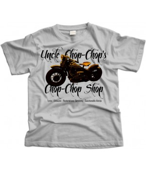 Chop Shop Bike Garage T-Shirt