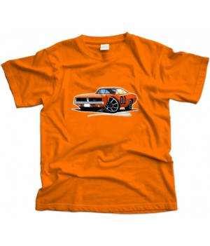 Dodge Charger General Lee Car T-Shirt