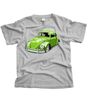 Green VW Beetle/Bug T-Shirt