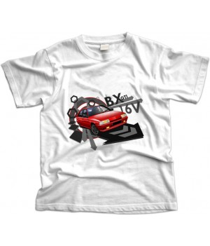 Red Citroen BX GTI 16V T-Shirt