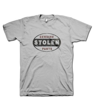 Stolen Car Parts Retro T-Shirt