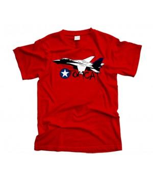 Grumman F-14a Tomcat Aircraft T-Shirt