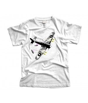 Hawker Typhoon Aircraft T-Shirt