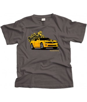 Chevrolet Camero Transformers Bumble Bee T-shirt