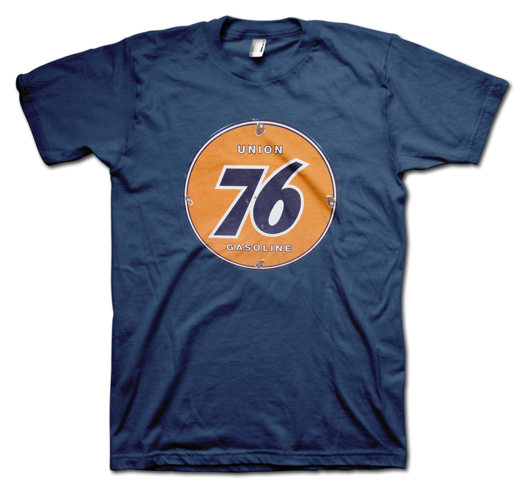 Union 76 retro t shirt for Vintage t shirt company